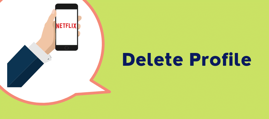 delete profile on iphone