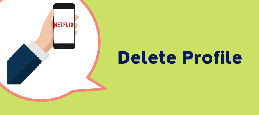 delete profile on iphone