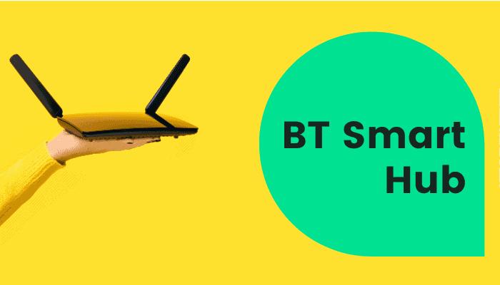 bt smart hub password