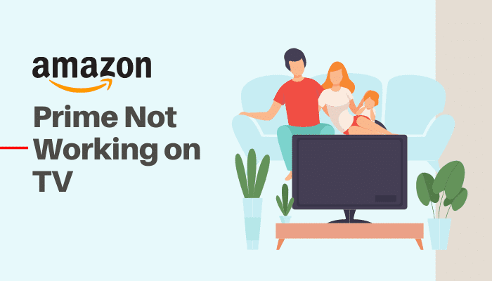 amazon prime not working on tv
