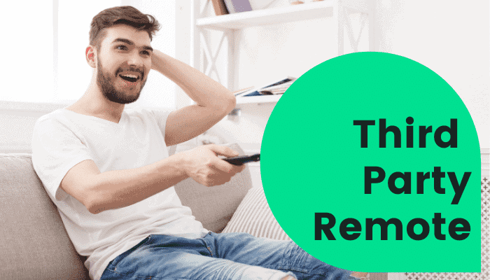 using third party remote