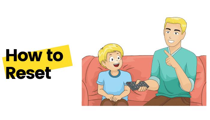 how to reset roku tv steps