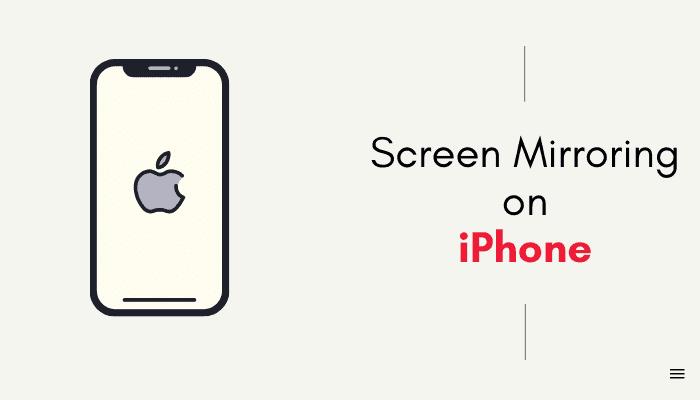 roku screen mirror on iphone