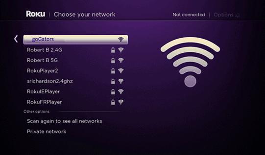 wifi roku