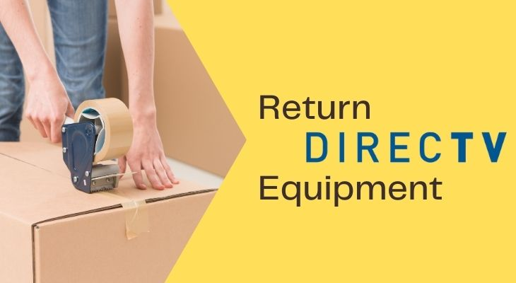 where to return directv equipment