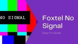 foxtel no signal