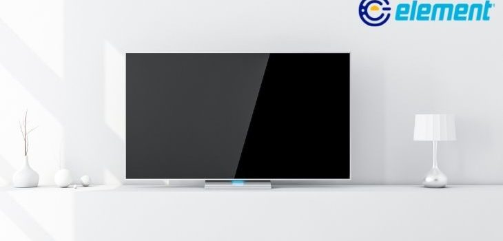 how to reset element tv without remote
