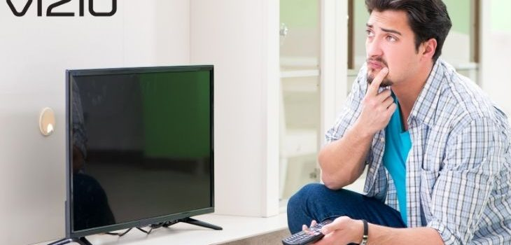 how to reset vizio tv without remote